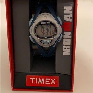 Women's Timex Ironman Blue Digital Watch